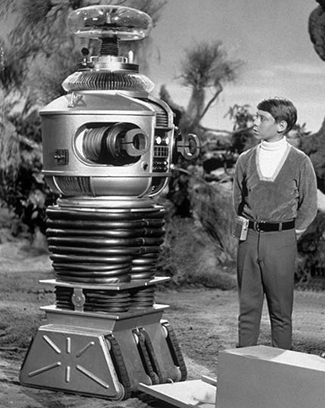 Will Robinson and the robot from Lost In Space.