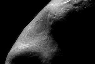 Photo of asteroid Eros