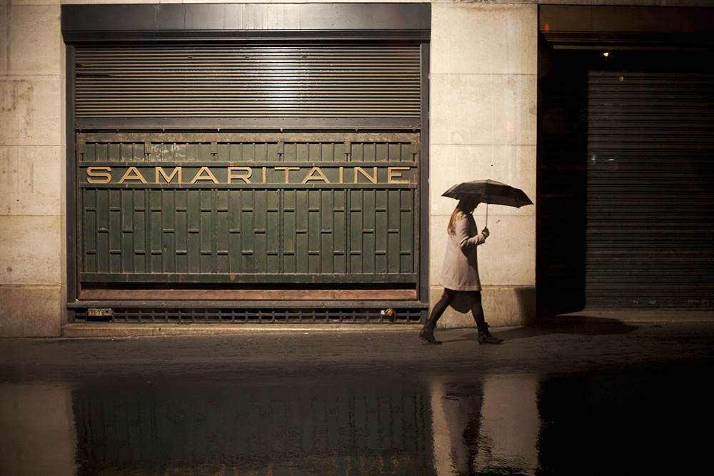Summer and the Samaritaine, two things talked about in the past tense that we wish were not.  This week in Paris, every three hours it feels like late September blows through.