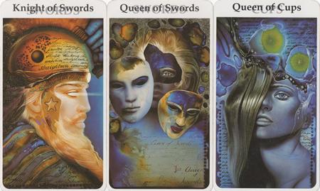 knight_swords_queen_swords_queen_cups_rohrig_sm