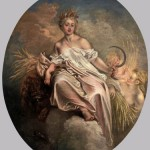 Ceres (Summer) painted 1717-1718 by  Jean-Antoine Watteau, now kept at the National Gallery of Art, Washington.