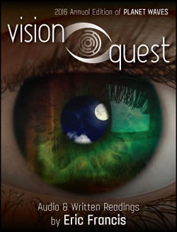 The written readings for all 12 signs of Vision Quest are available, and Eric is working on the audio astrology and rune readings! Order all 12 signs here, or individual signs here.