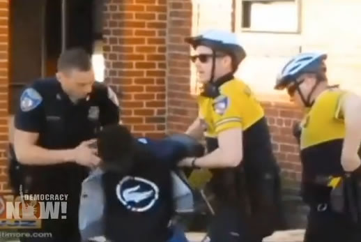 Baltimore: Mistrial in Trial Against Officer in Death of Freddie Gray. Image: vide still.