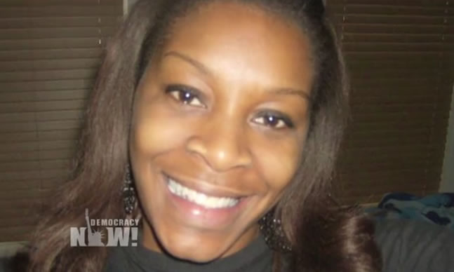 Family members and supporters are demanding justice for Sandra Bland after a grand jury failed to indict anyone for her death. Bland, an African-American woman, was arrested on July 10 in Prairie View, Texas, after she allegedly failed to signal a lane change. She was jailed with bond set at $5,000. Three days later, she was found dead in her jail cell.