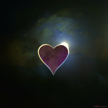 """Eclipsed Heart"" by Rob Moore."