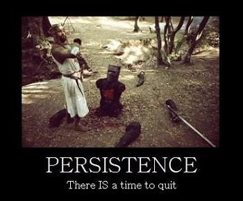 persistence-demotiv