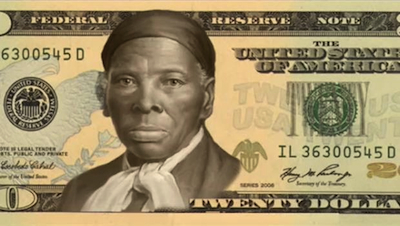 CBS imagines what the Harriet Tubman $20 bill might look like.