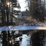 Mill Pond, Casco, Maine; photo by Amanda Painter.