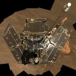 On Dec. 19 and 20, 2004, the Mars Curiosity rover used its panoramic camera to take the images combined into this mosaic view of itself. During Chiron in Aries, curiosity about, and willingness to explore, who you are may be a good starting place. Photo by NASA/JPL-Caltech/Cornell