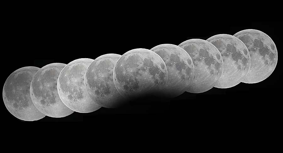 Partial Lunar Eclipse: Dec. 31, 2009. Photo by Anthony Ayiomamitis.