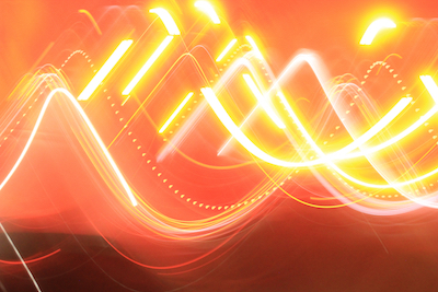 Fire engine abstract #2; Photo by Amanda Painter.