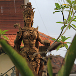 Dewi Sri, the Balinese goddess of rice and fertility. Photo by Amanda Painter.
